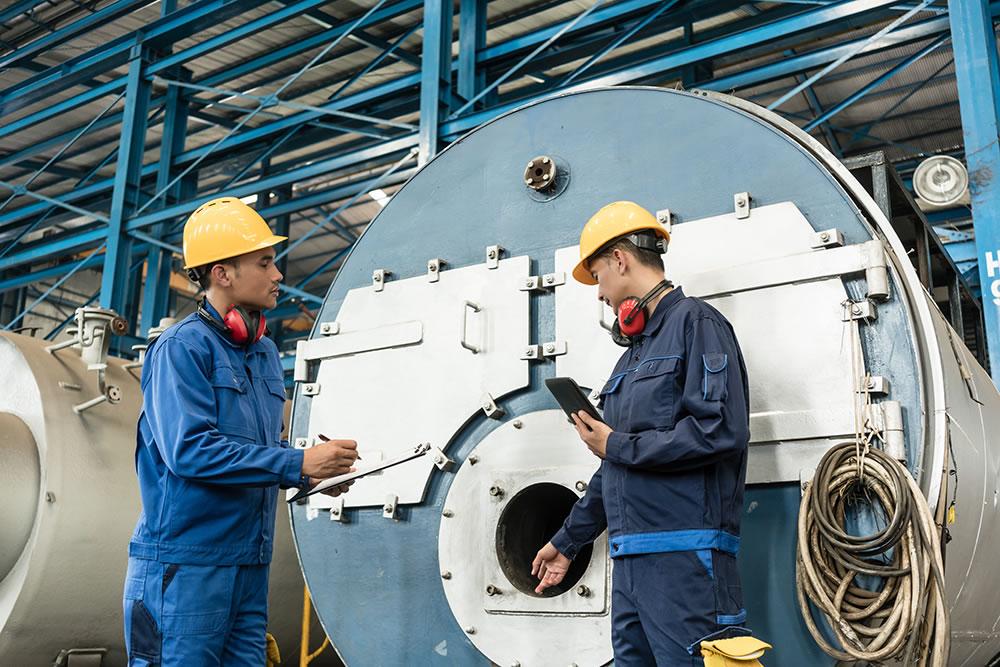 OFS-Produkte können Einsparpotentiale an Dampf- und Heisswasserkesseln erschließen.